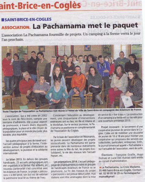 Article Chronique R AG Pachamama 2014 001