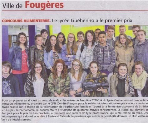 Article OF Festival Alimenterre 2014 001
