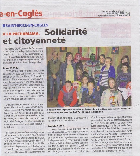 Article AG 2015